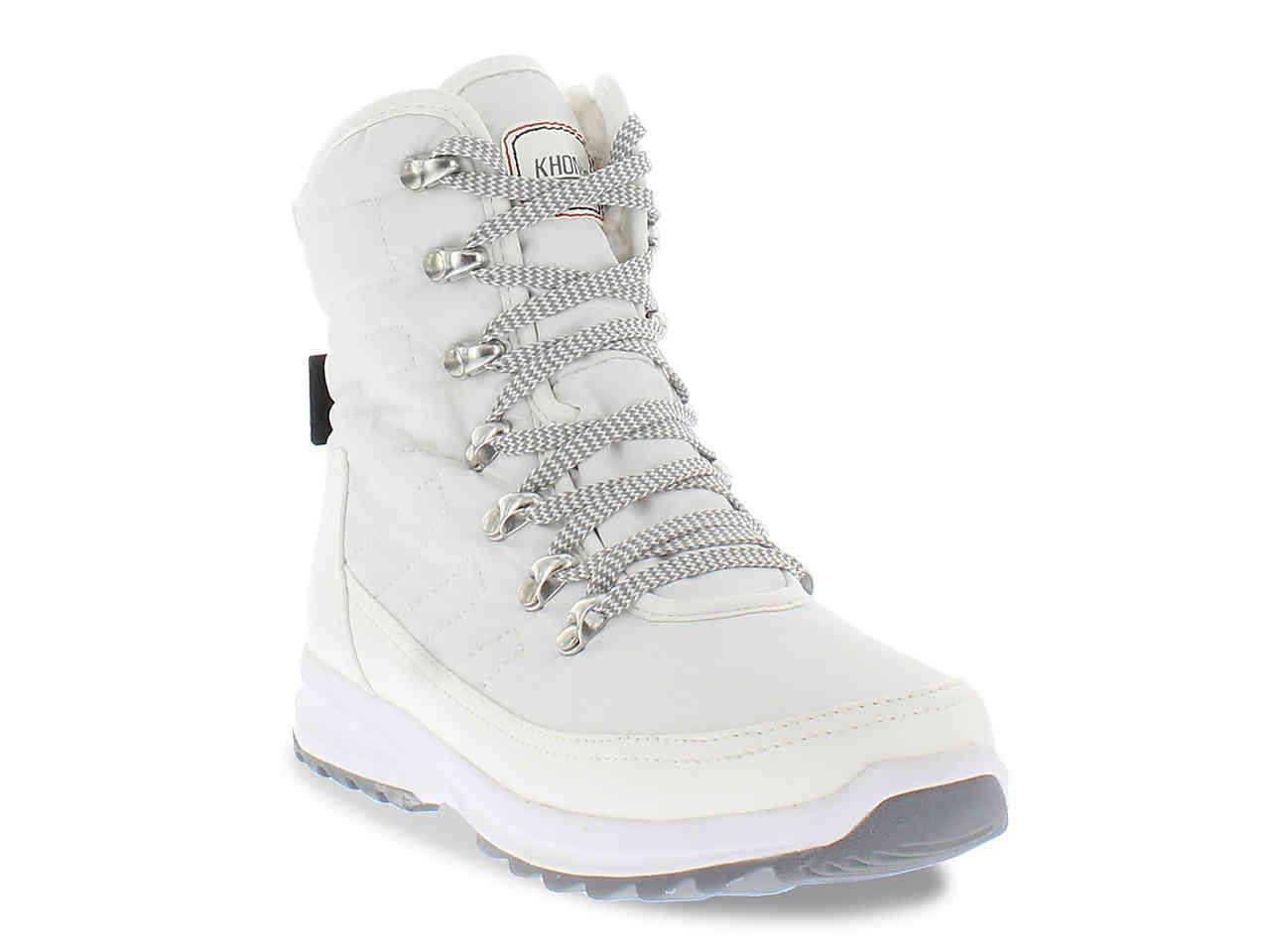 457b76fd83a Lyst - Khombu Alta Sport Ii Snow Boot in White