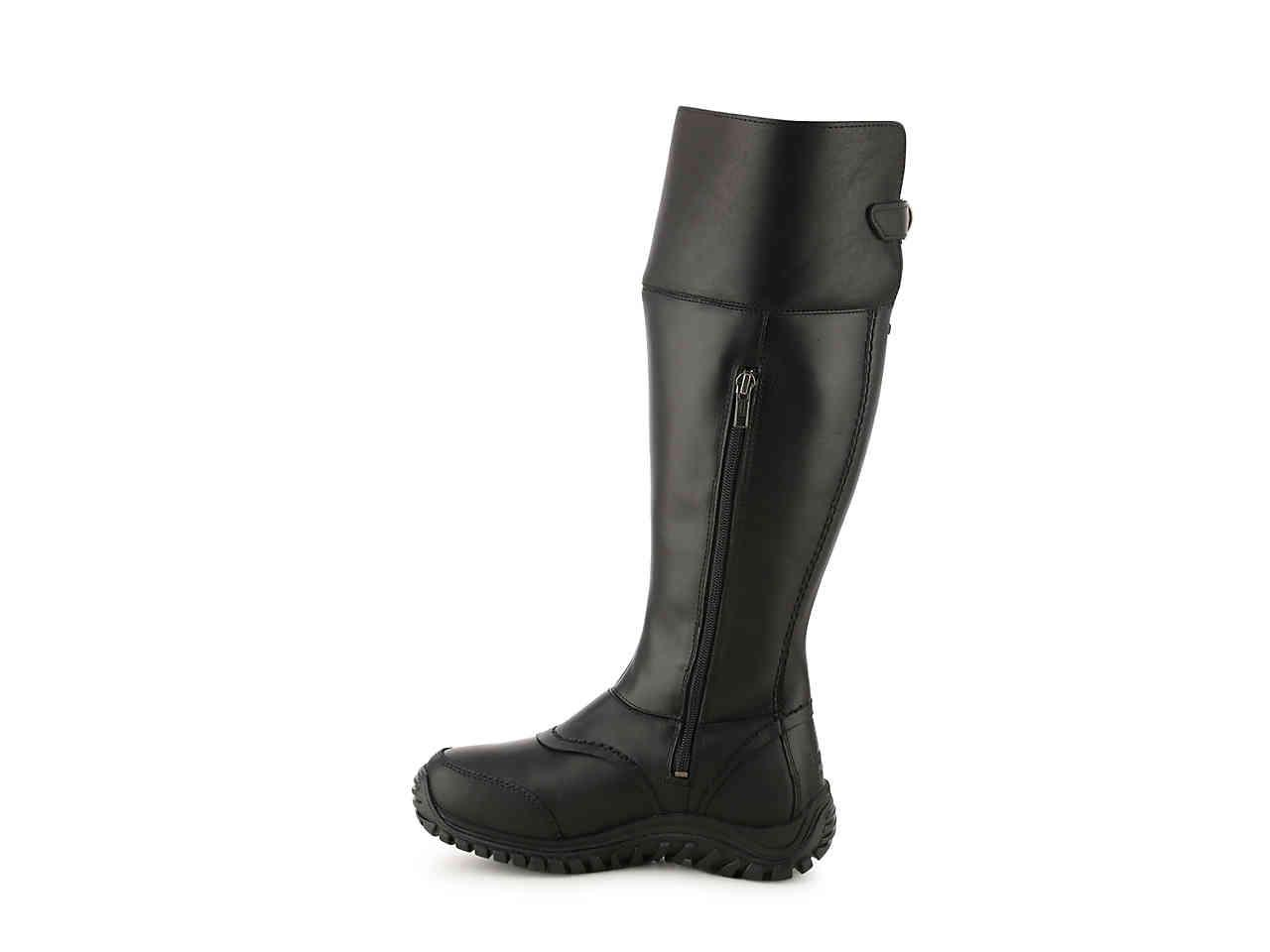 UGG Leather Miko Snow Boot in Black - Lyst