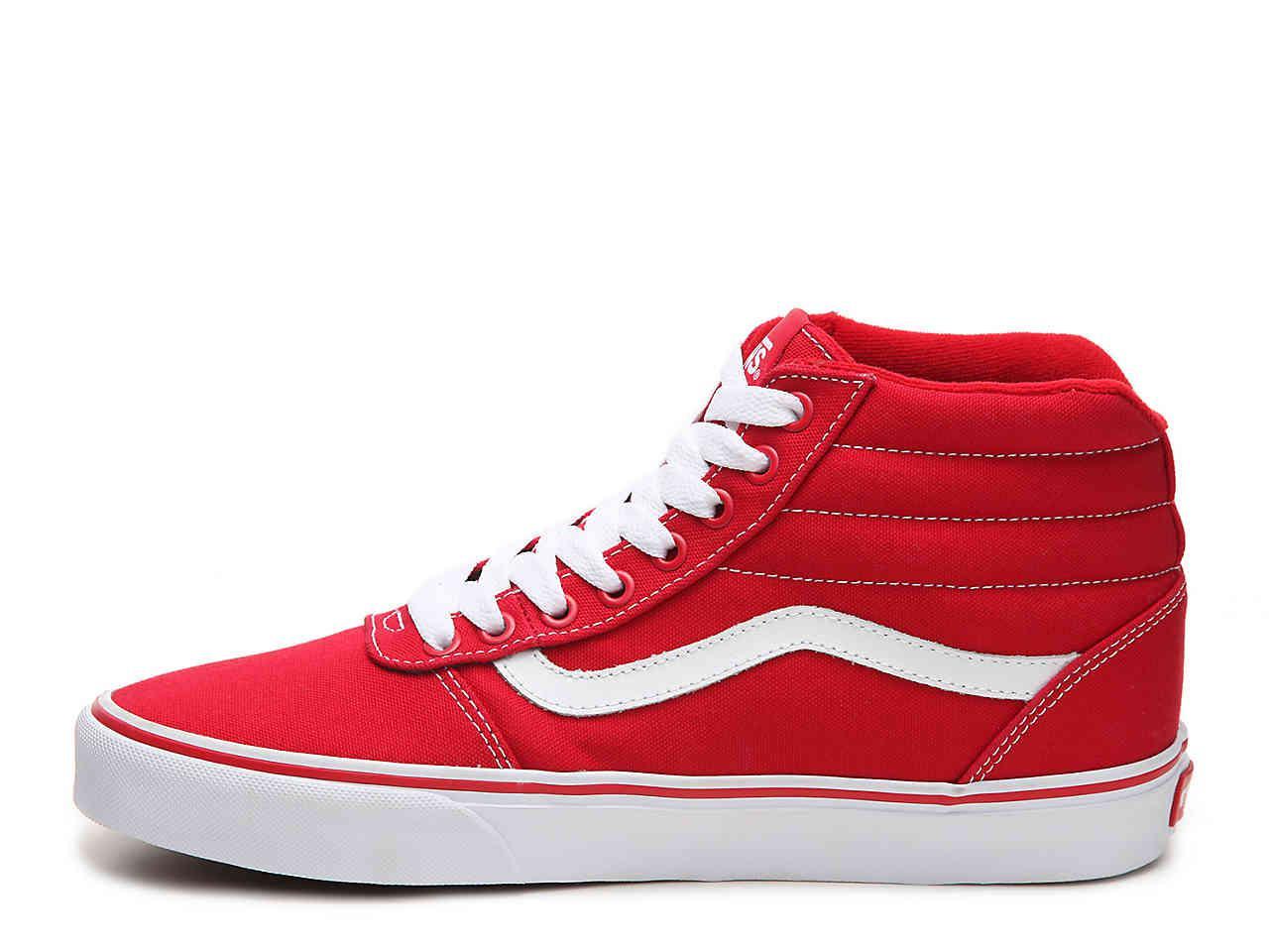 Vans Ward Hi Canvas High-top Sneaker in
