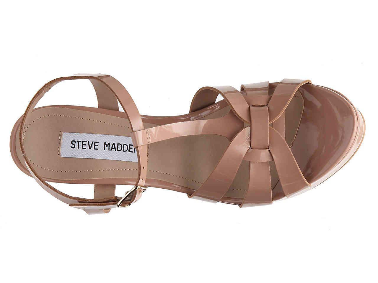 5595bbd07ce Steve Madden Purple Kadri Platform Sandal