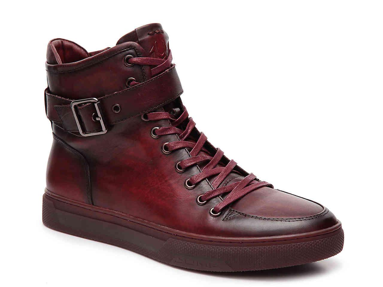 Jump Leather Sullivan High Top Sneaker