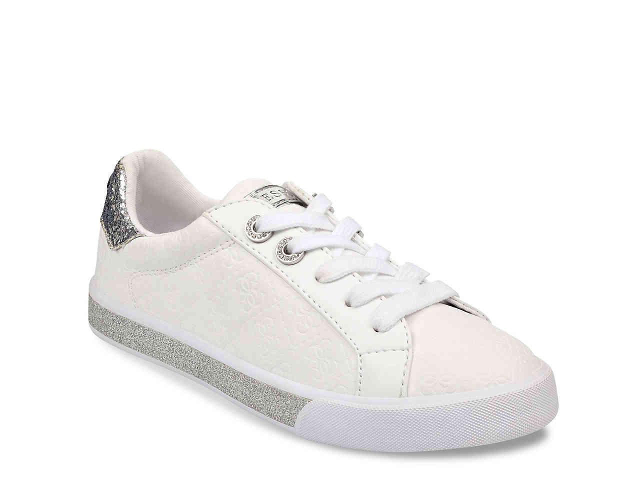 Guess Meggie Sneaker in White - Lyst