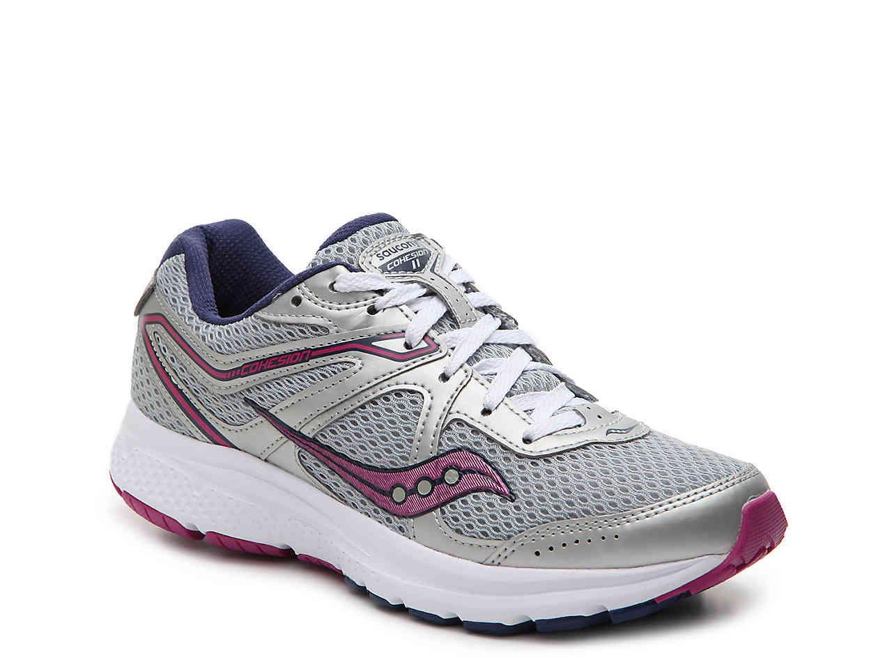 Saucony Men/'s Grid Cohesion 11 Running Shoe CHARCOAL//BLU S20420-6 Pick A SZ NWB