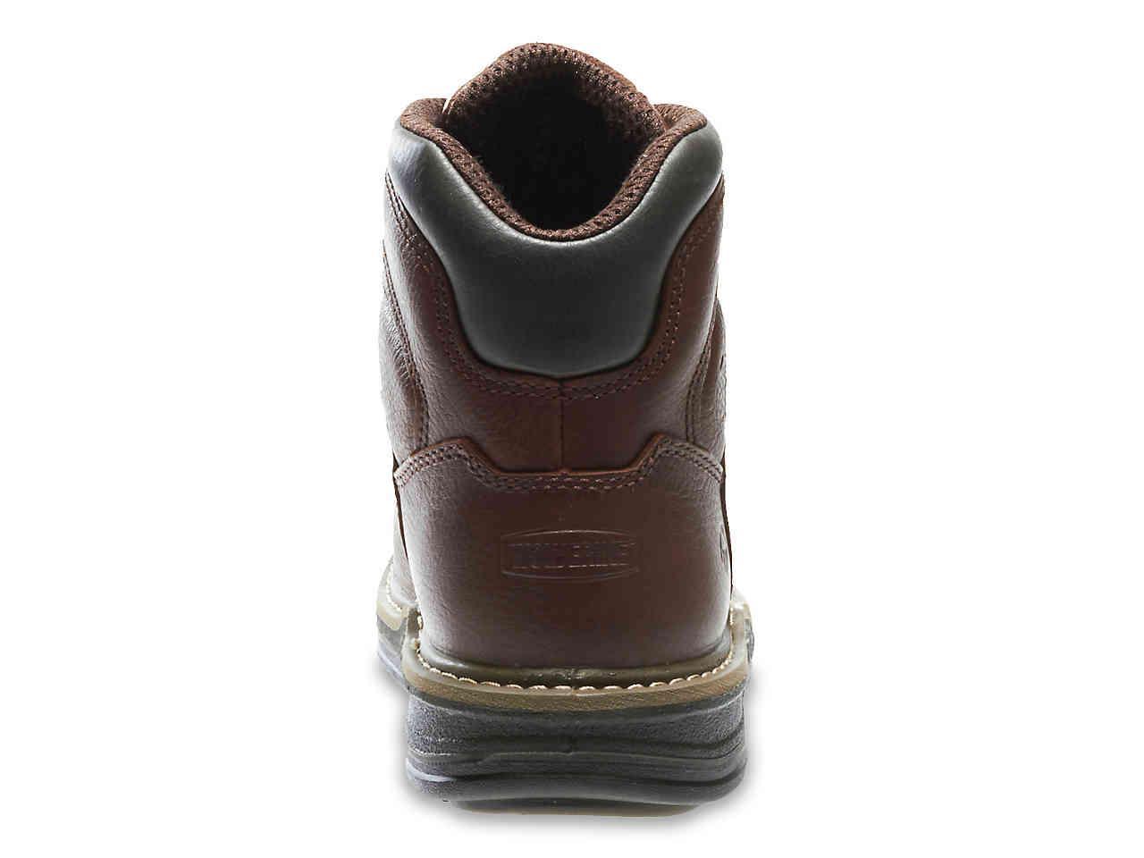 best sneakers quite nice amazing selection Wolverine Leather Buccaneer Work Boot in Dark Brown (Brown) for ...