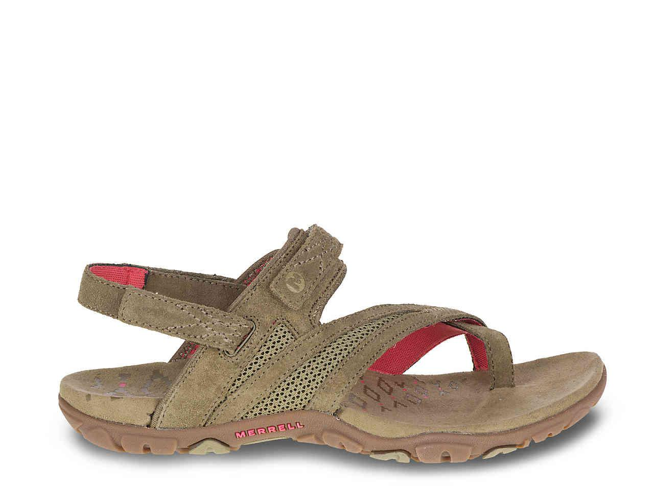 ffa7347a38e1 Lyst - Merrell Sandspur Delta Sport Sandal in Brown