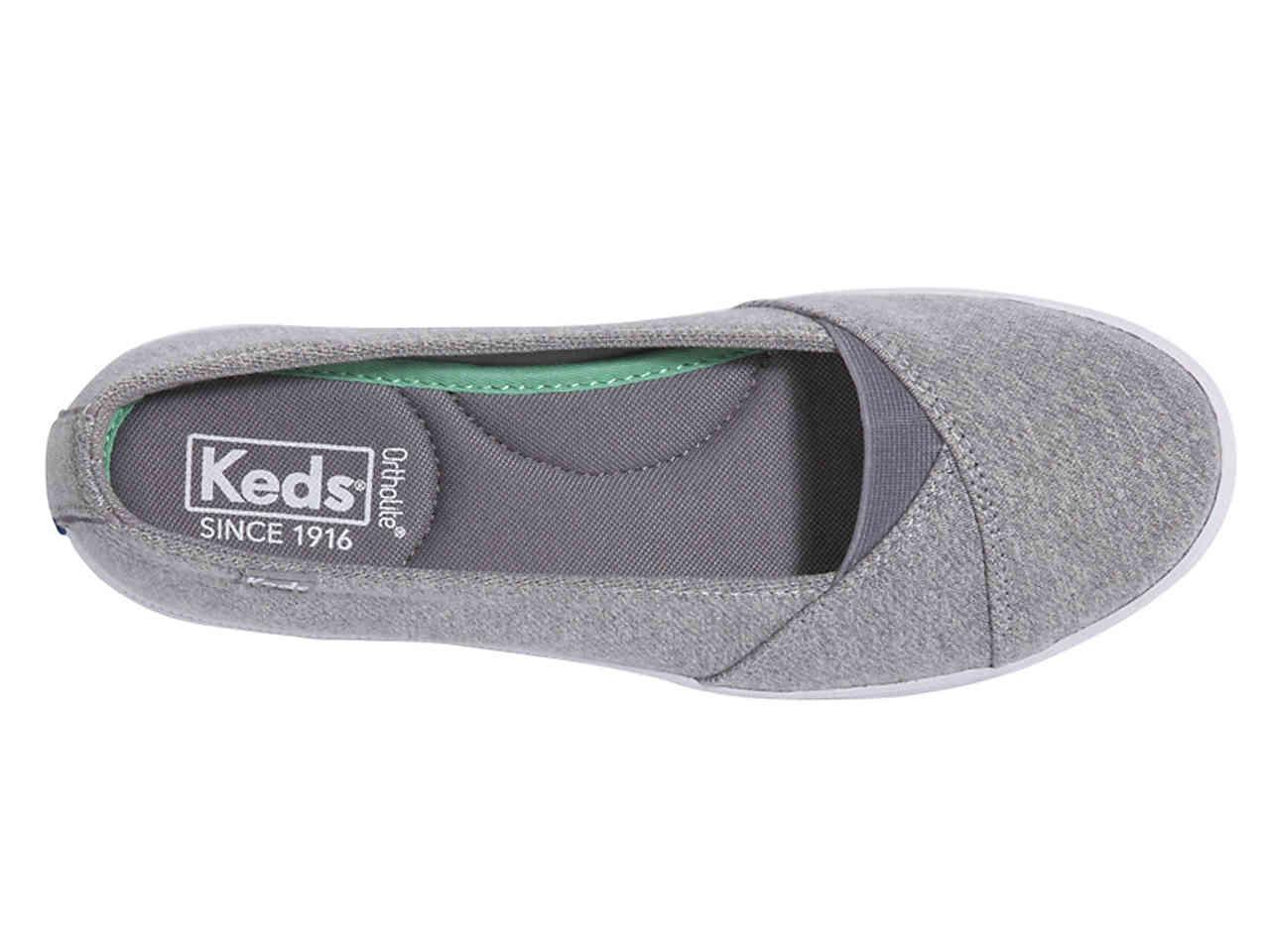 Keds Canvas Cali Sport Flat in Grey