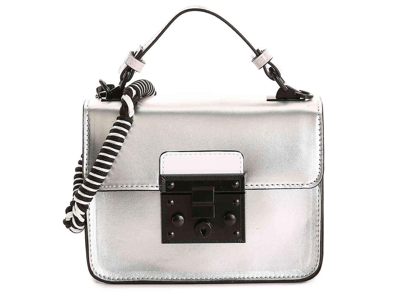 Lyst - Steve Madden Beffie Crossbody Bag in Metallic 99d94960e3b58