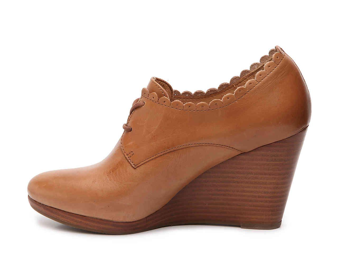 e6f76dddcd09 Lyst - Jack Rogers Olivia Wedge Bootie in Brown