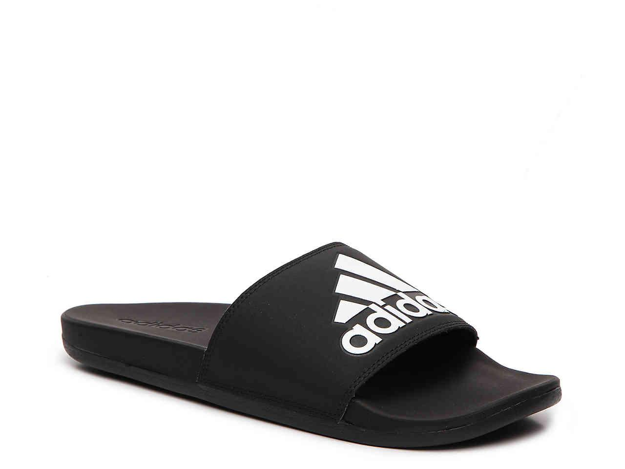 Lyst Adidas Adilette Cf Plus Slide Sandale in Schwarz