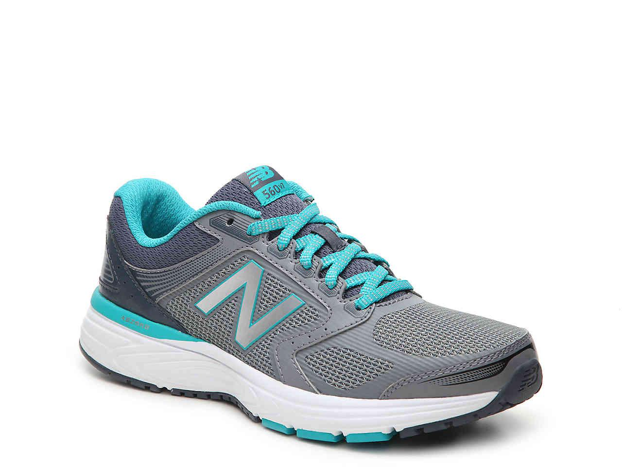 New Balance 560 V7 Running Shoe in Grey/Teal (Gray) - Lyst