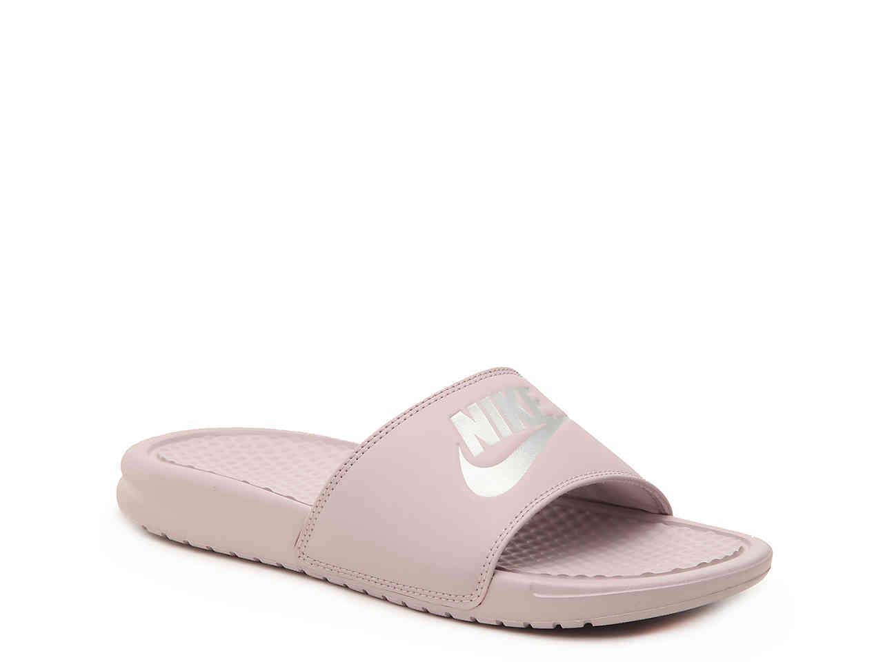edd4b9ebb Lyst - Nike Benassi Slide Sandal in Pink - Save 4%
