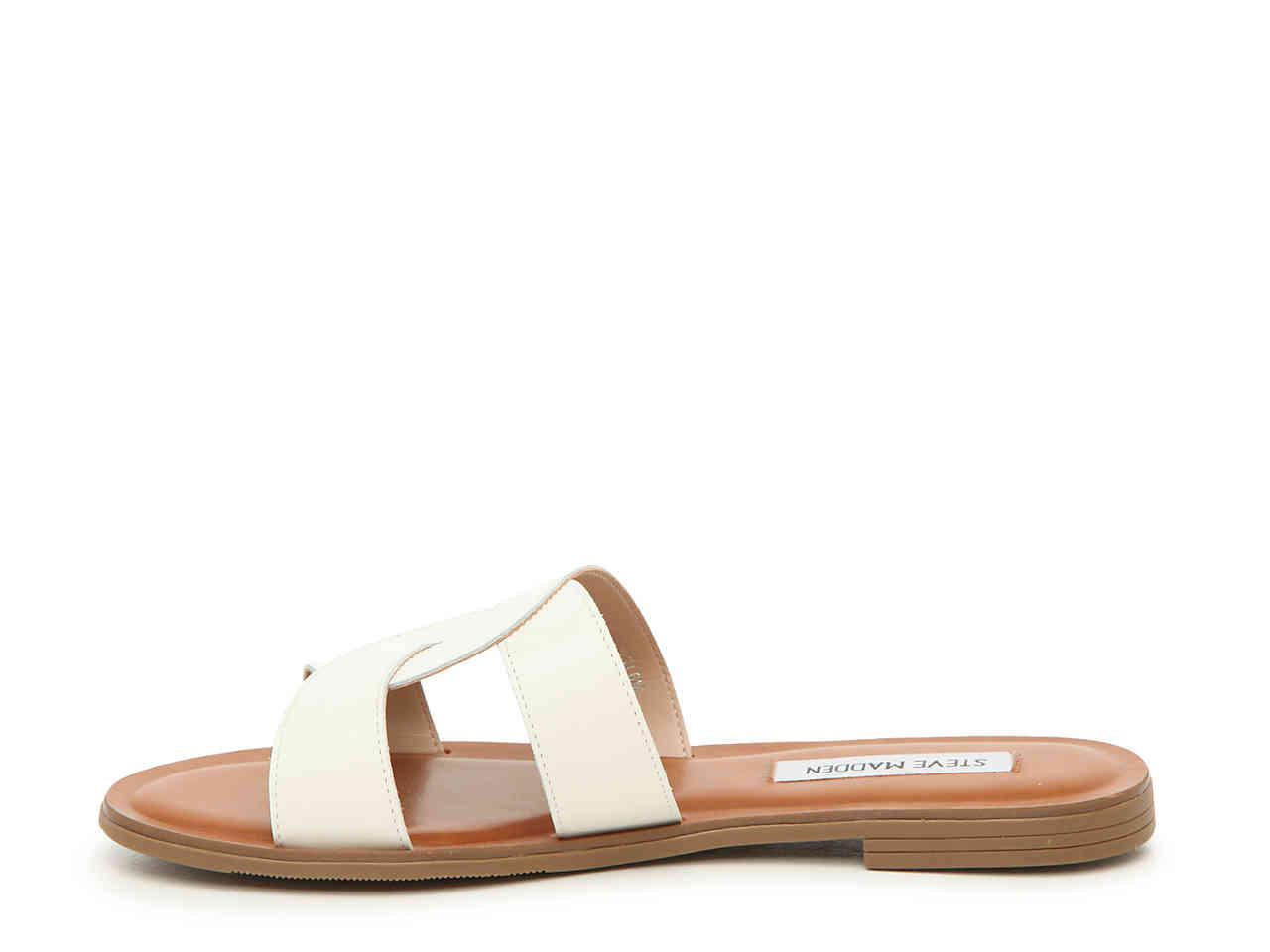 Steve Madden Havana Sandal in White - Lyst