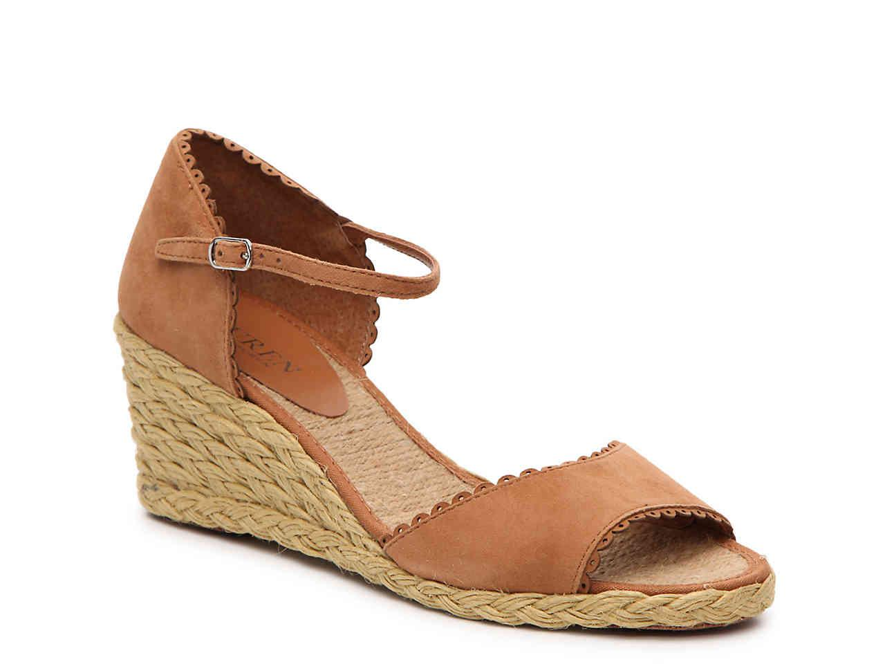 Sandal Chrissie Brown Ralph Lauren Wedge By uZTPkXiO