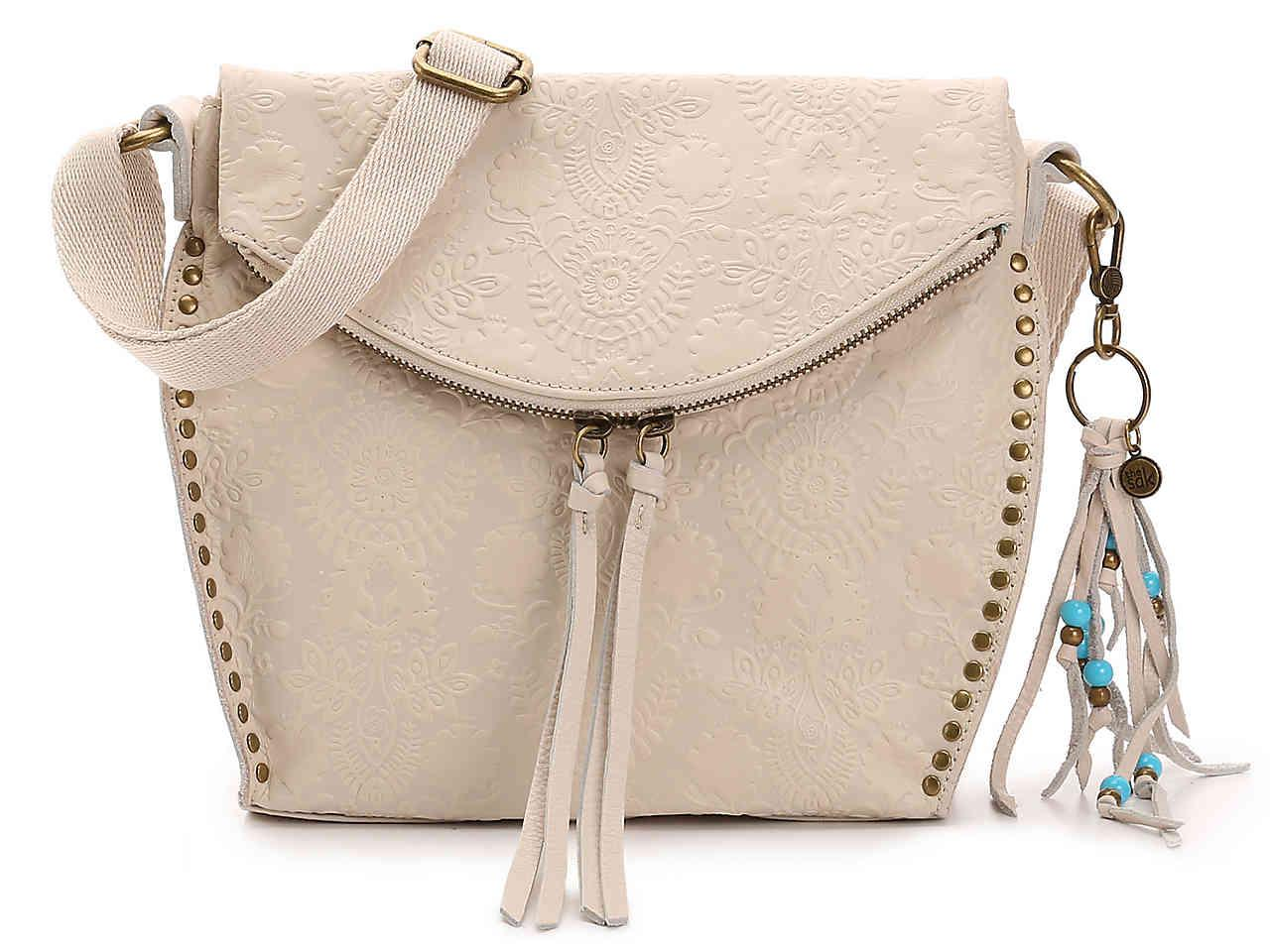4e45a4c5f991 Lyst - The Sak Silverlake Leather Crossbody Bag in White