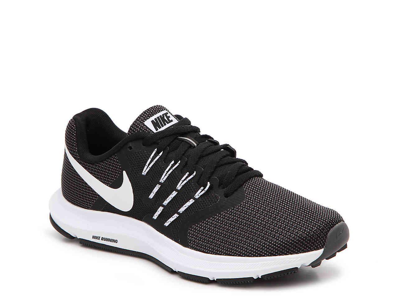 Nike. Men's Black Run Swift Lightweight Running Shoe