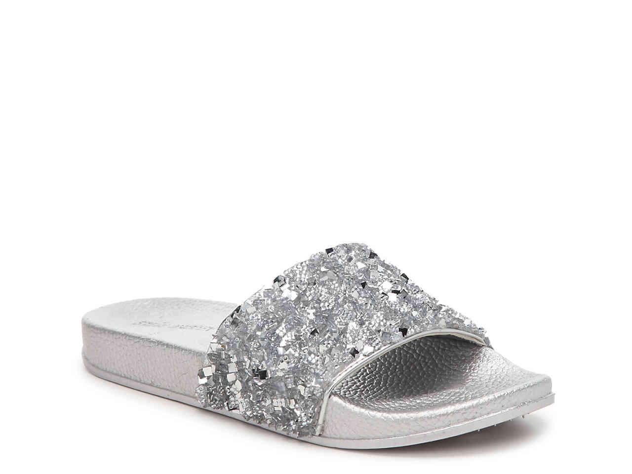 049ffd0dd6b Steve Madden Metallic Cady Slide Sandal