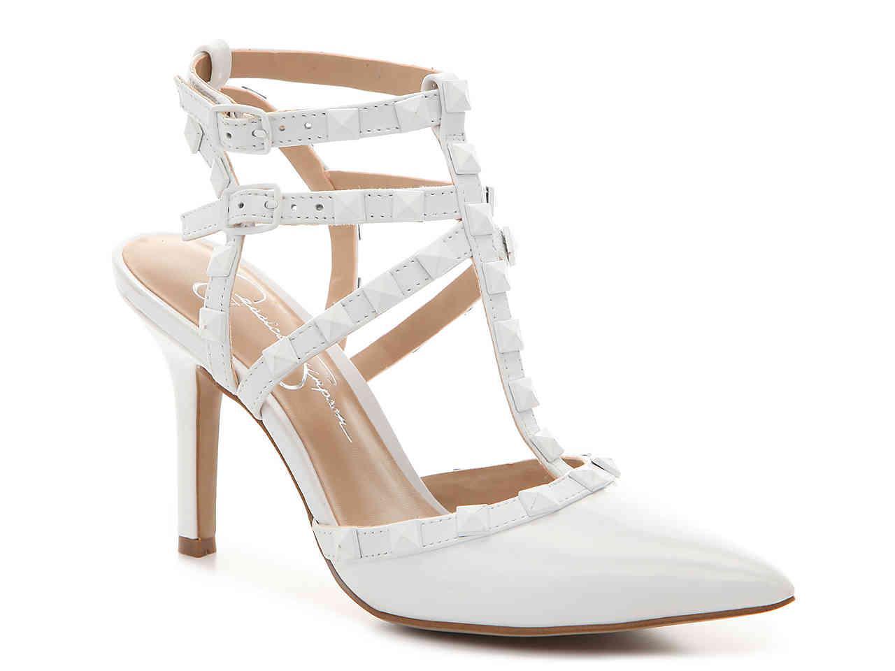 07af9e2ddd82 Lyst - Jessica Simpson Dameera Pump in White