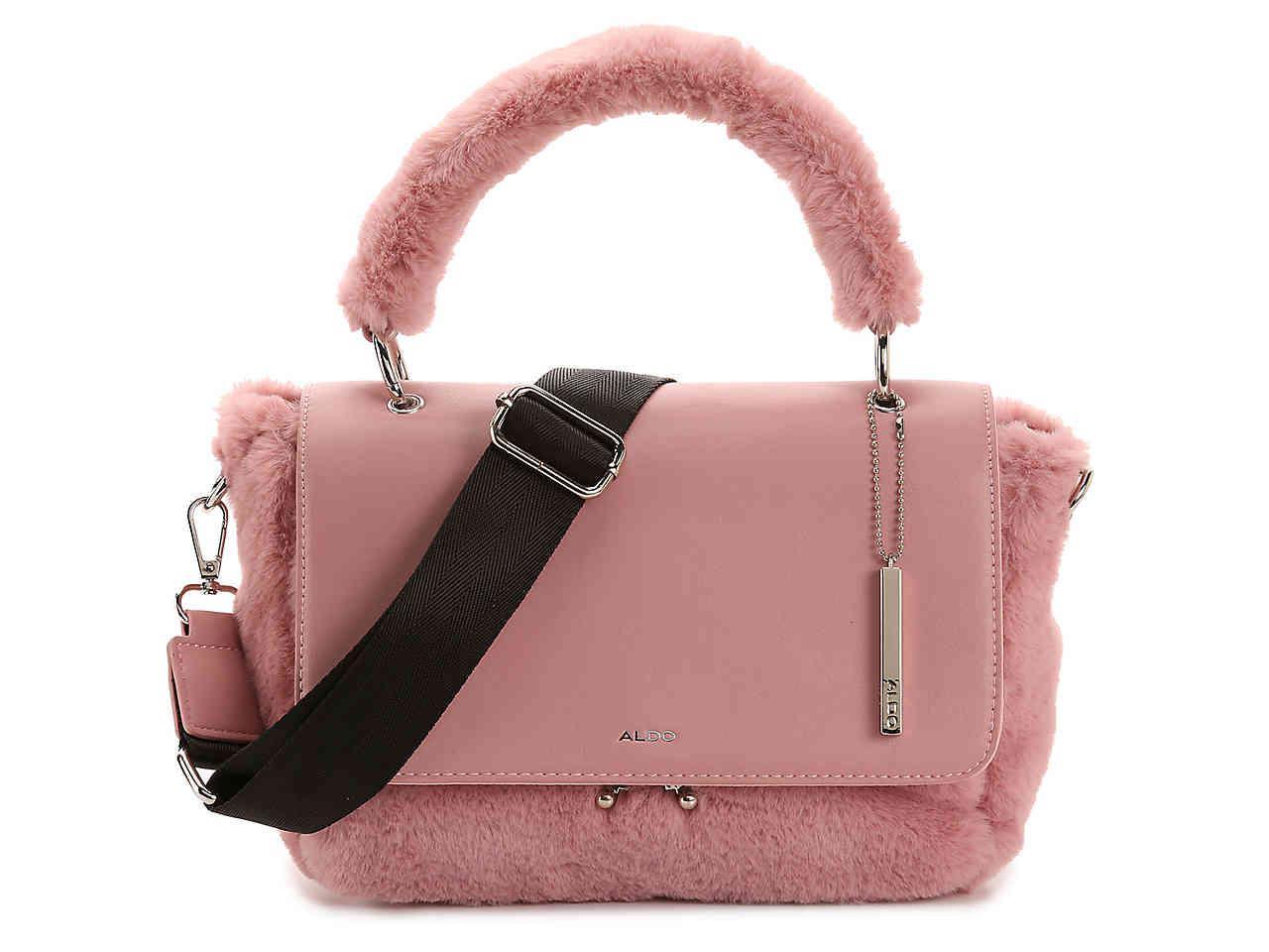 393eeb68ee5 ALDO - Pink Raisin Satchel - Lyst. View fullscreen