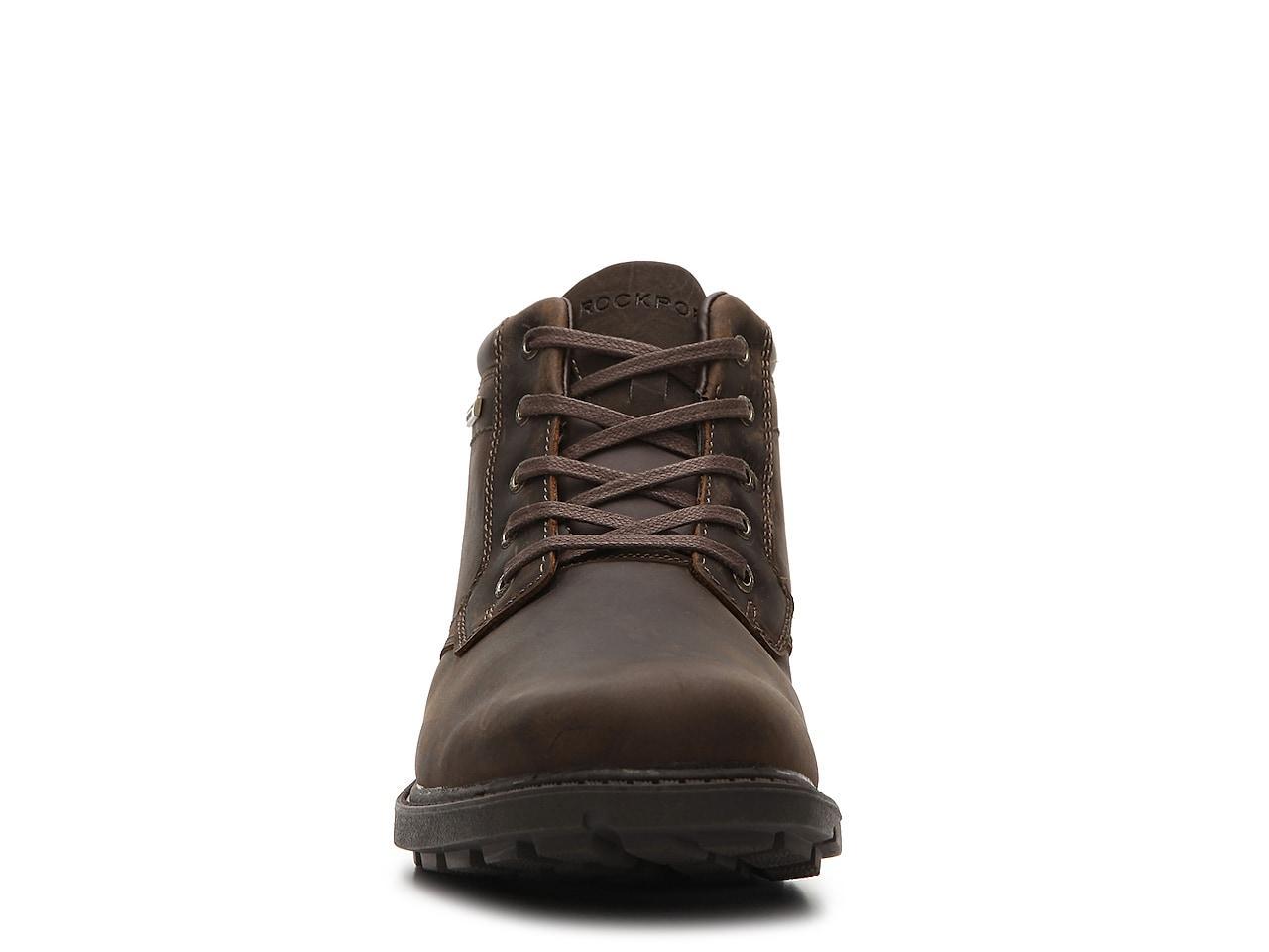 Rockport Boots Storm Surge Plain Toe Noir Homme