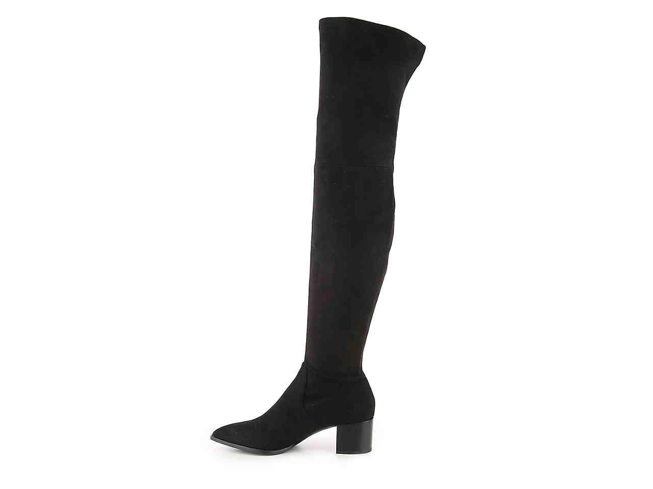 c8258f8dec2 Lyst - Karl Lagerfeld Amila2 Over The Knee Boot in Black