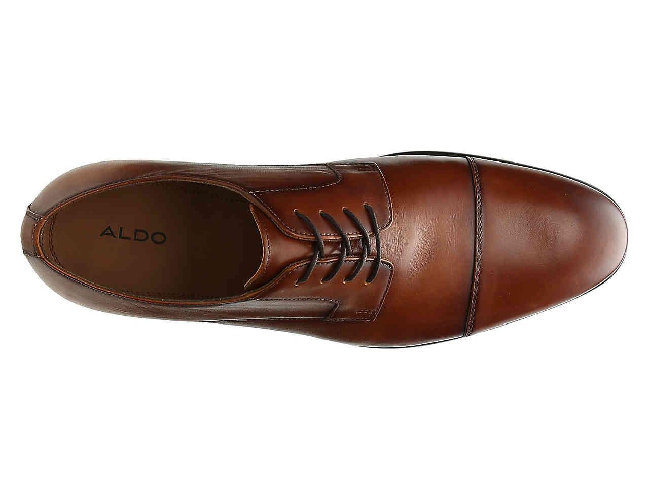 ALDO Knaggs Cap Toe Oxford in Brown for
