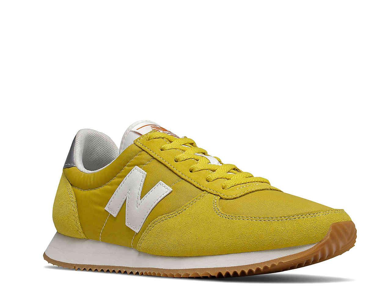 New Balance Suede 220 Sneaker In Mustard Yellow White Yellow Lyst