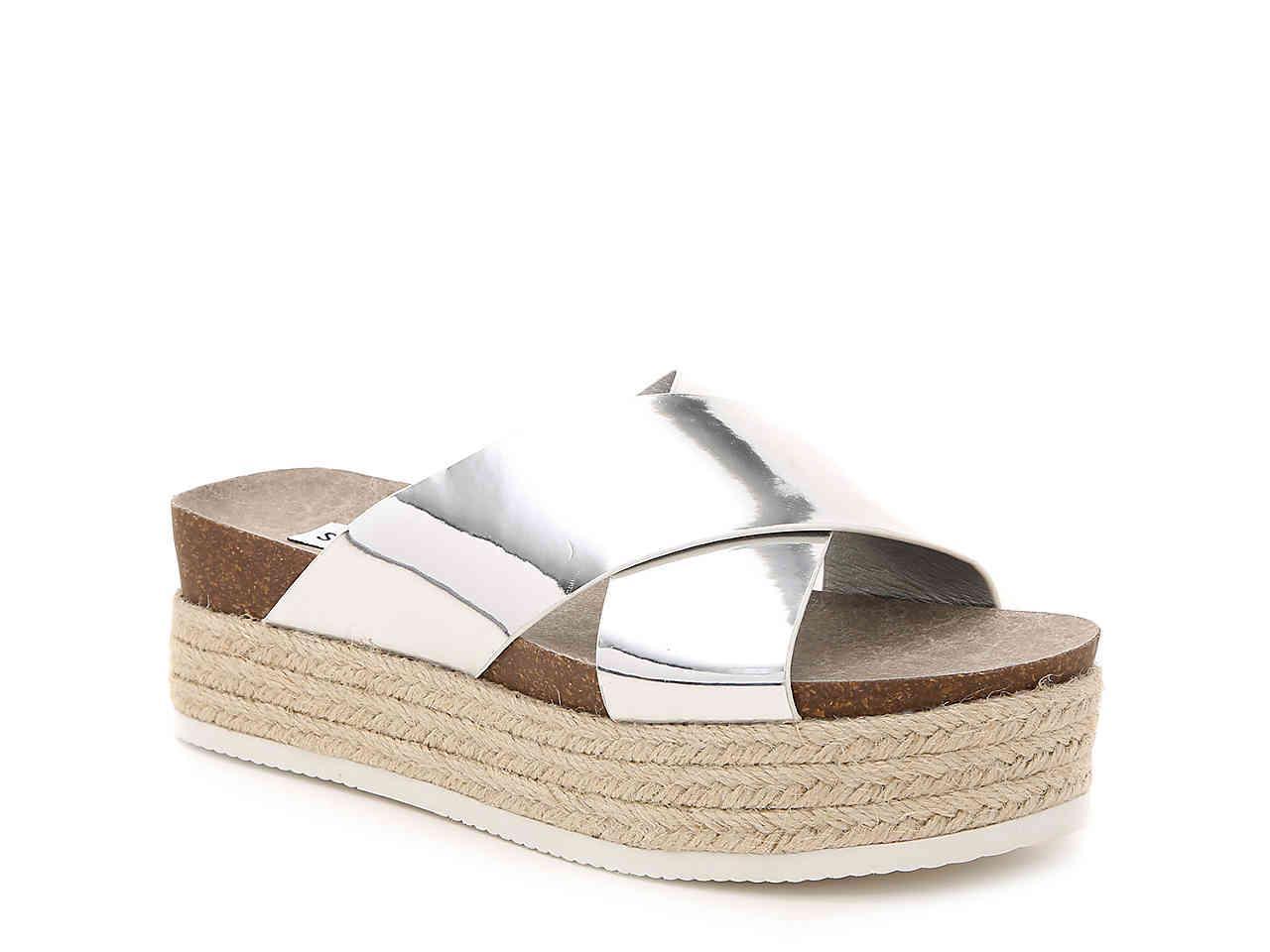 1034206a03c Steve Madden Metallic Hassie Espadrille Sandal