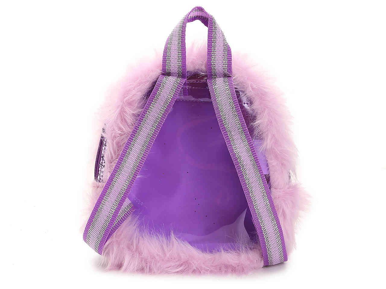 Lyst - Skechers Twinkle Toes Furry Mini Backpack in Purple c96cd32dbef06