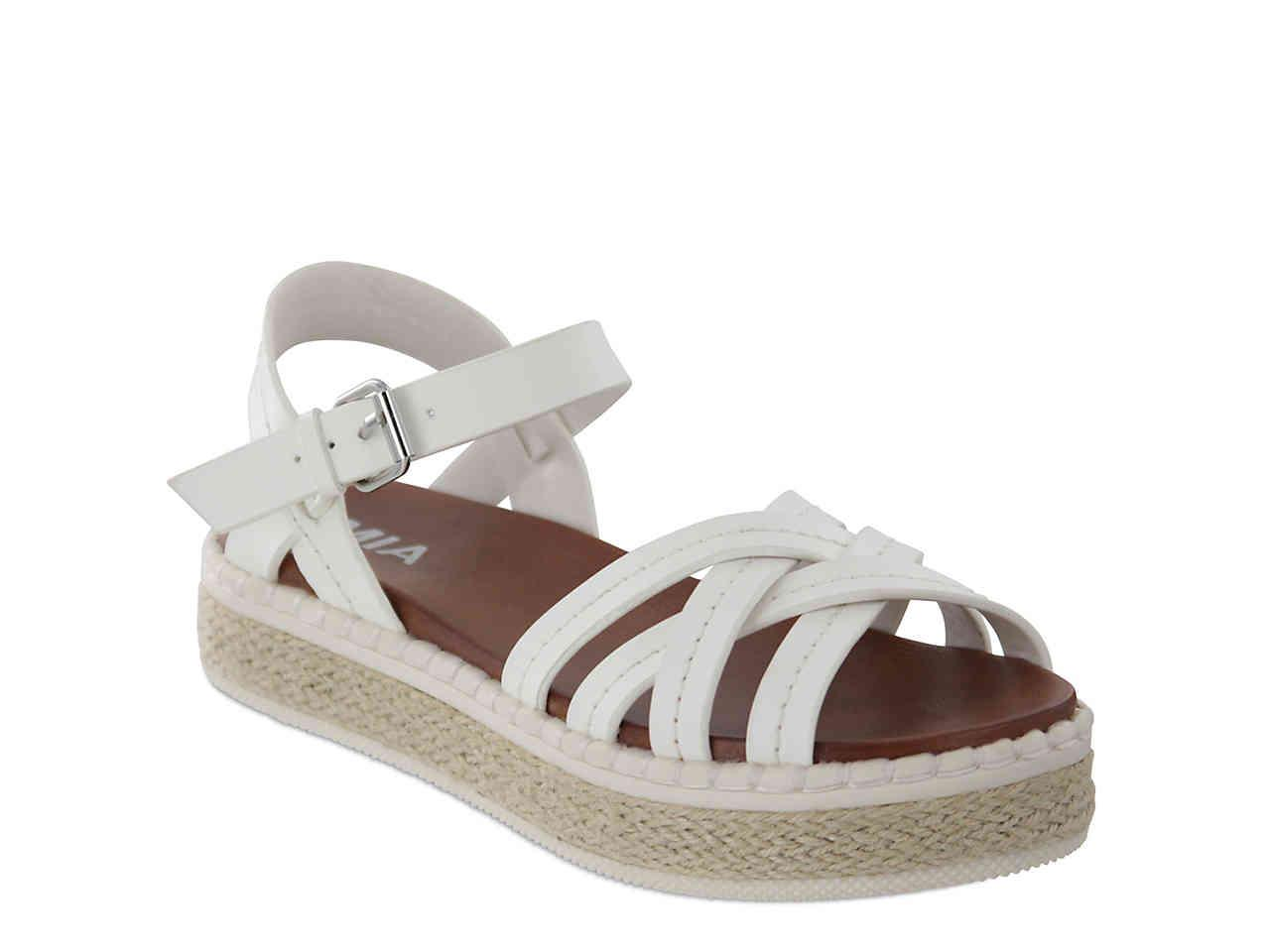 4b074bf508 Lyst - MIA Virginia Espadrille Platform Sandal in White