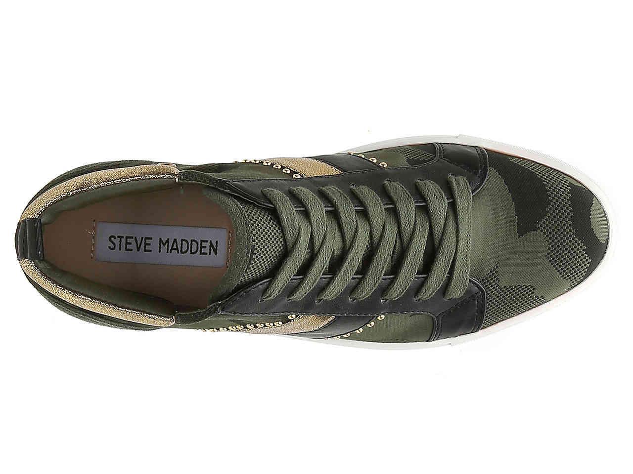 Steve Madden Gusty Wedge Sneaker in