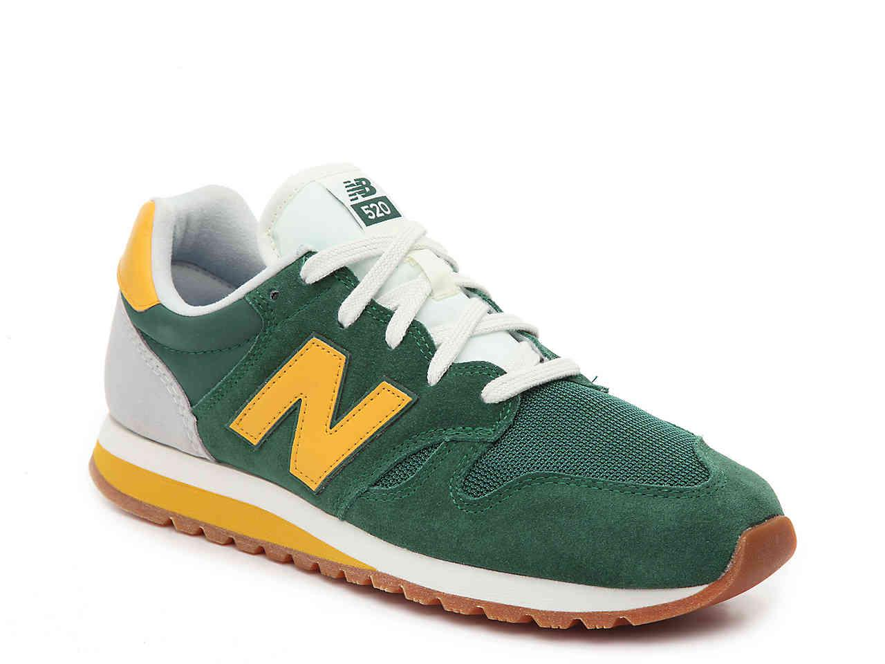 New Balance Suede 520 Sneaker in Green/Mustard Yellow (Green) for ...