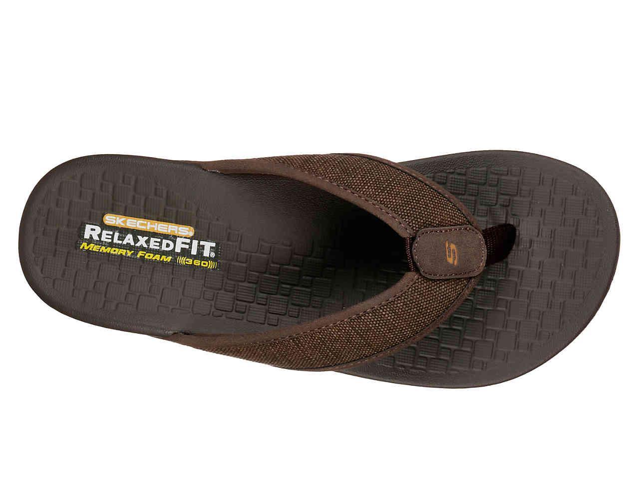 latest sale shop for luxury popular design Men's Brown Relaxed Fit Pelem Belago Flip Flop