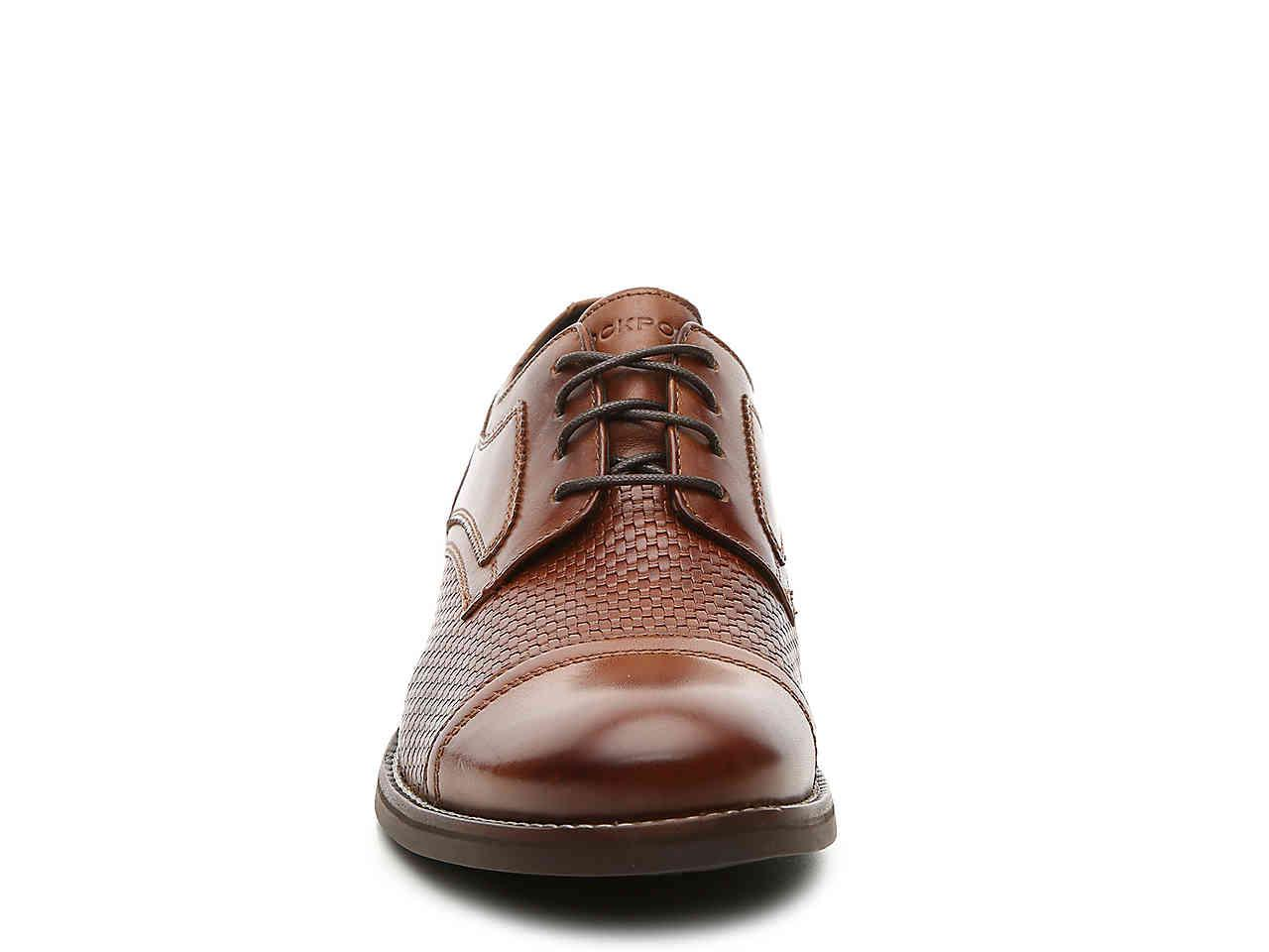 4c3745d2b9ef Lyst - Rockport Wyat Cap Toe Oxford in Brown for Men