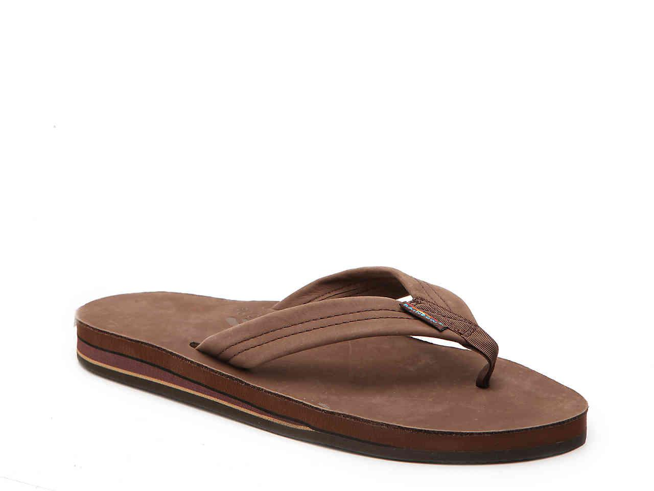44d62461608ff Lyst - Rainbow Sandals Premier Leather Sandal in Brown for Men