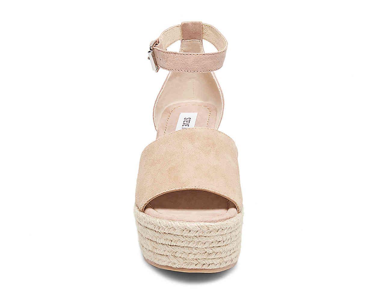 21cba290967 Steve Madden Multicolor Apolo Espadrille Wedge Sandal