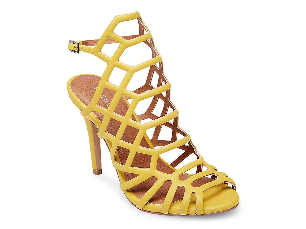 Madden Girl Direct Sandal in Yellow - Lyst