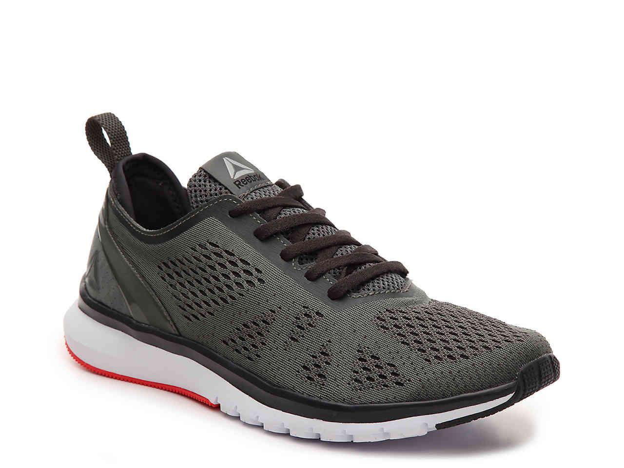 Lyst - Reebok Zprint Run Smooth Lightweight Running Shoe in Black ... 4426bf526