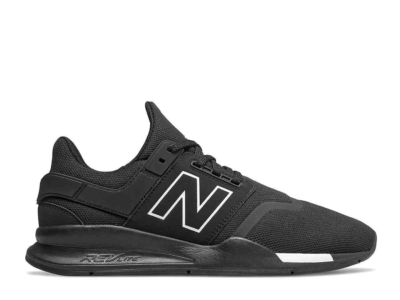 New Balance Synthetic 247 V2 Sneaker in nb Navy/Bone (Black) for ...