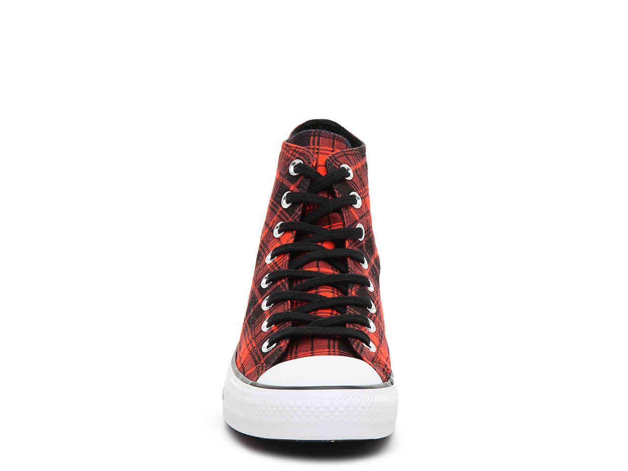 38801be0a0ca Converse - Red Chuck Taylor All Star Hi High-top Sneaker for Men - Lyst.  View fullscreen