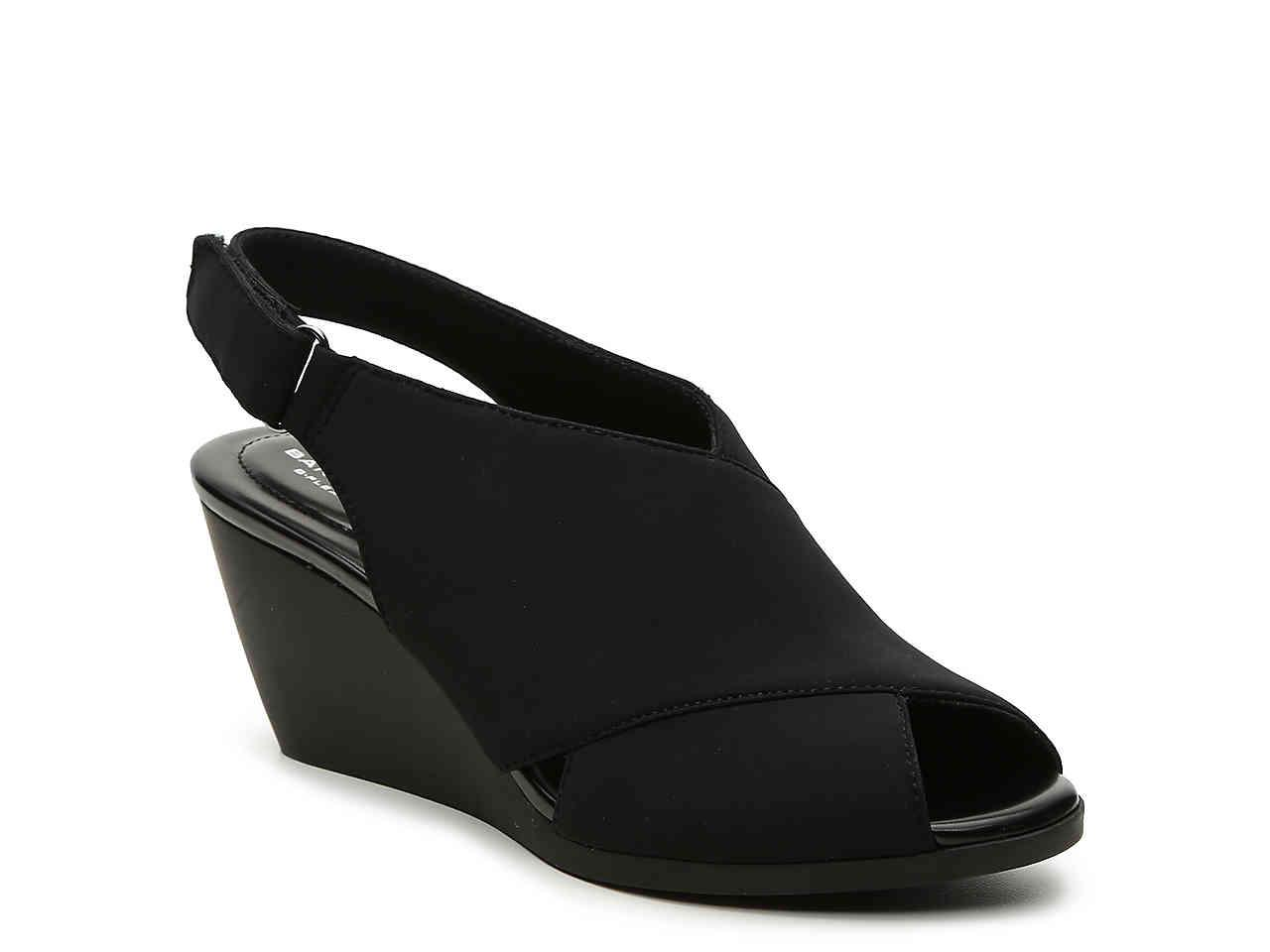 4e4b8ee1c90c Lyst - Bandolino Afton Wedge Sandal in Black