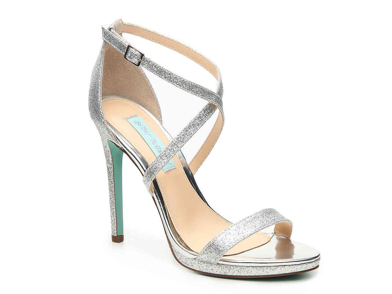 e562d69da83 Lyst - Betsey Johnson Dina Platform Sandal in Metallic