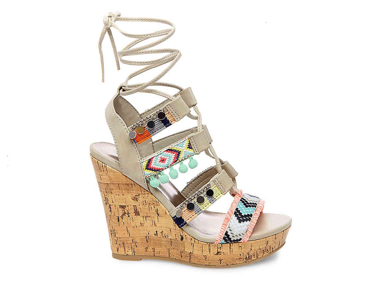 Madden Girl Indie Wedge Sandal - Lyst
