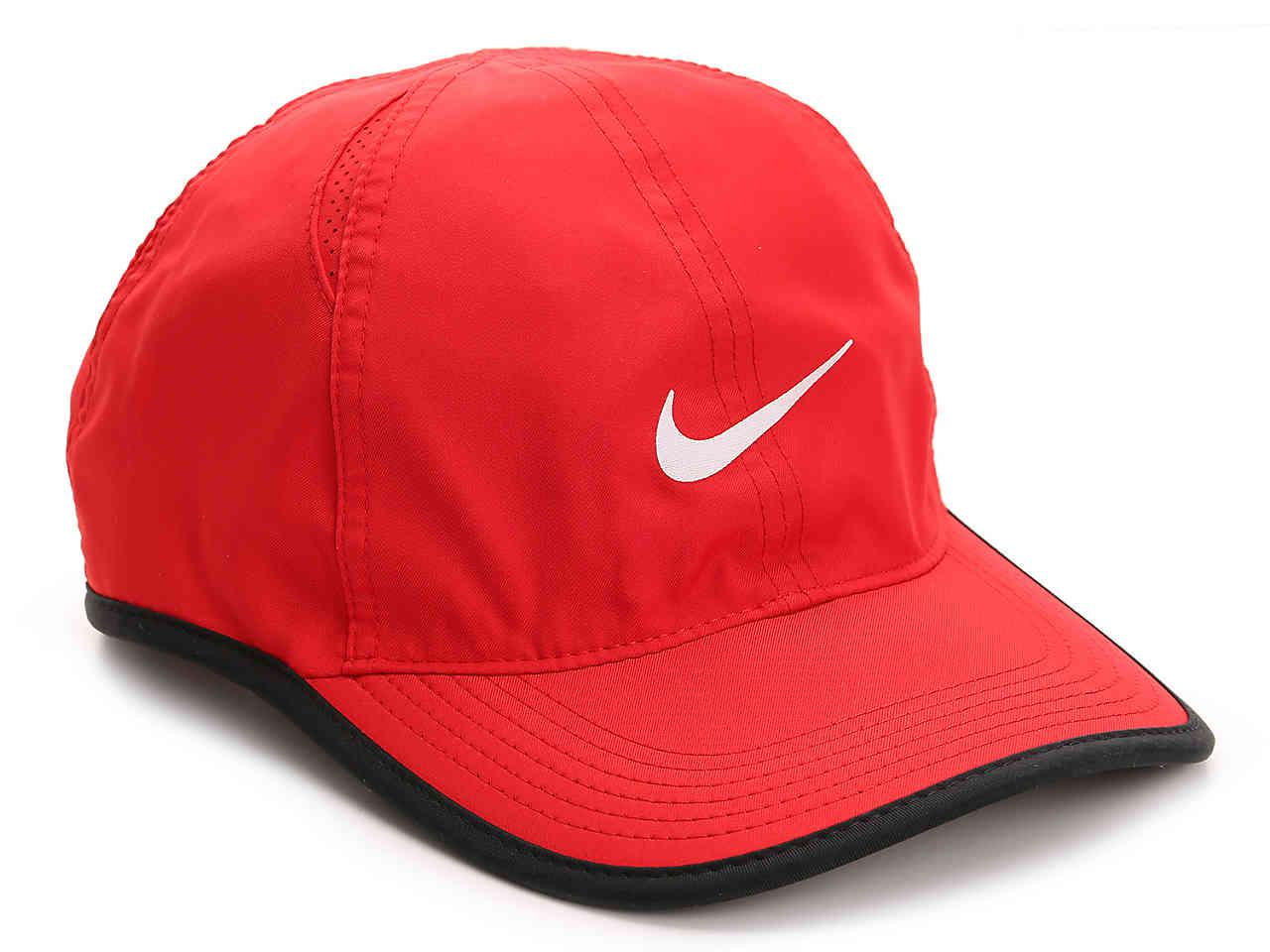 8ae5e23d020 Lyst - Nike Aerobill Featherlight Baseball Cap in Red for Men