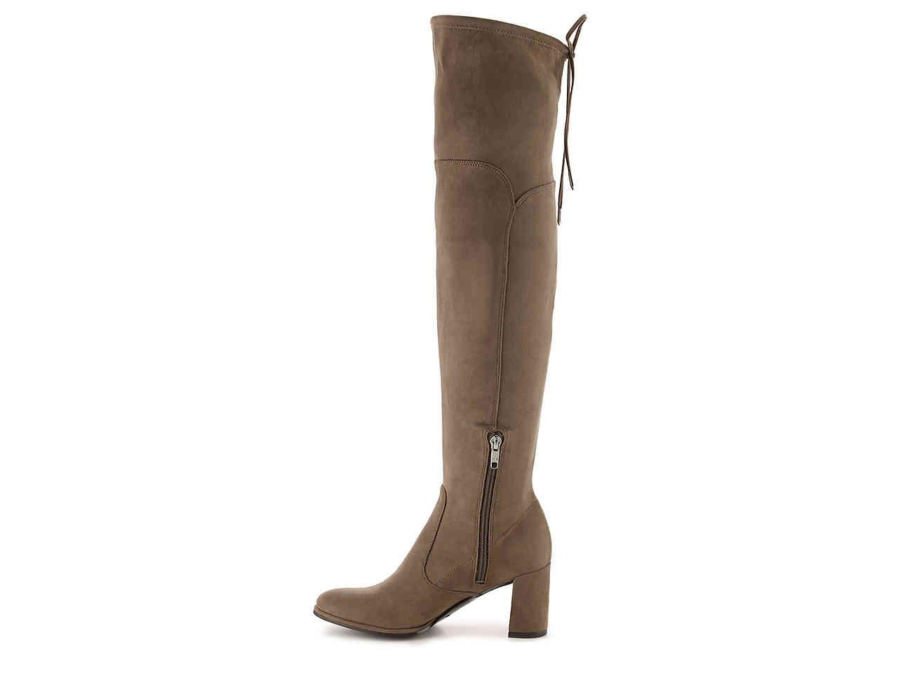 5feb113fe25 Lyst - Marc Fisher Locket Over The Knee Boot in Brown