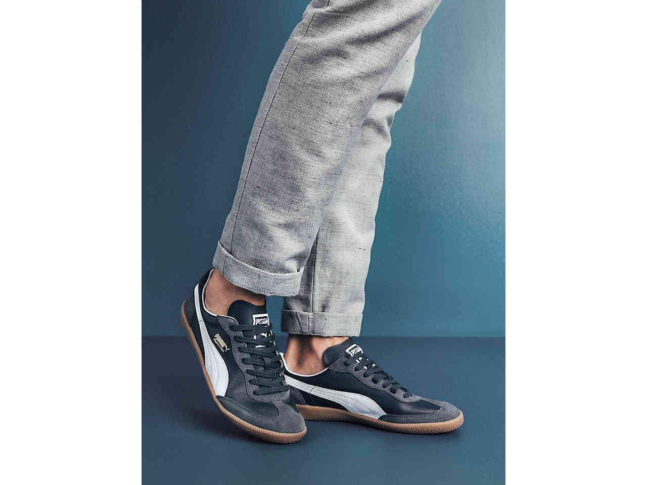 Men Super Liga OG Retro Sneaker Men's Navy | Retro