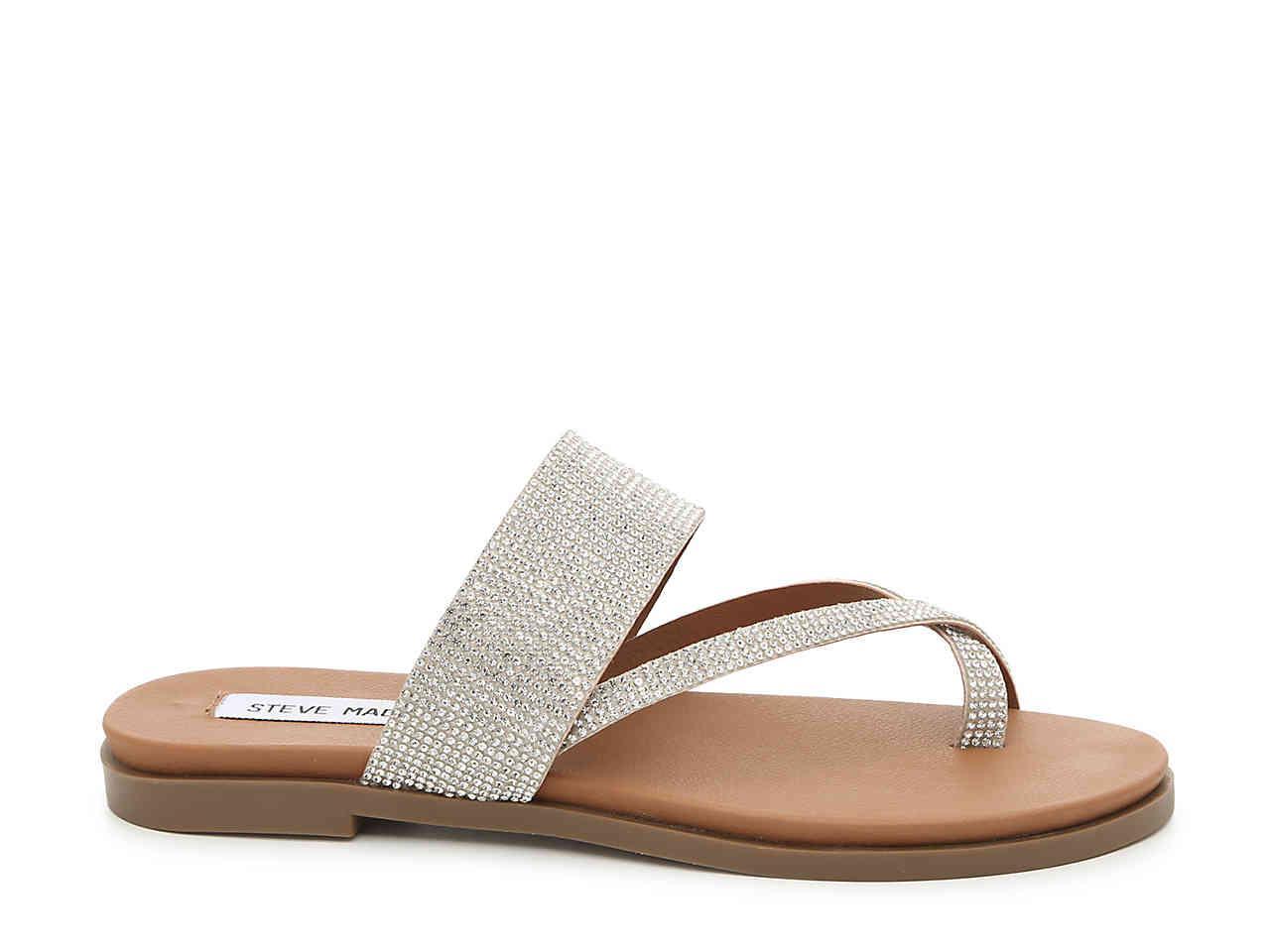 Steve Madden Athens Sandal in Metallic