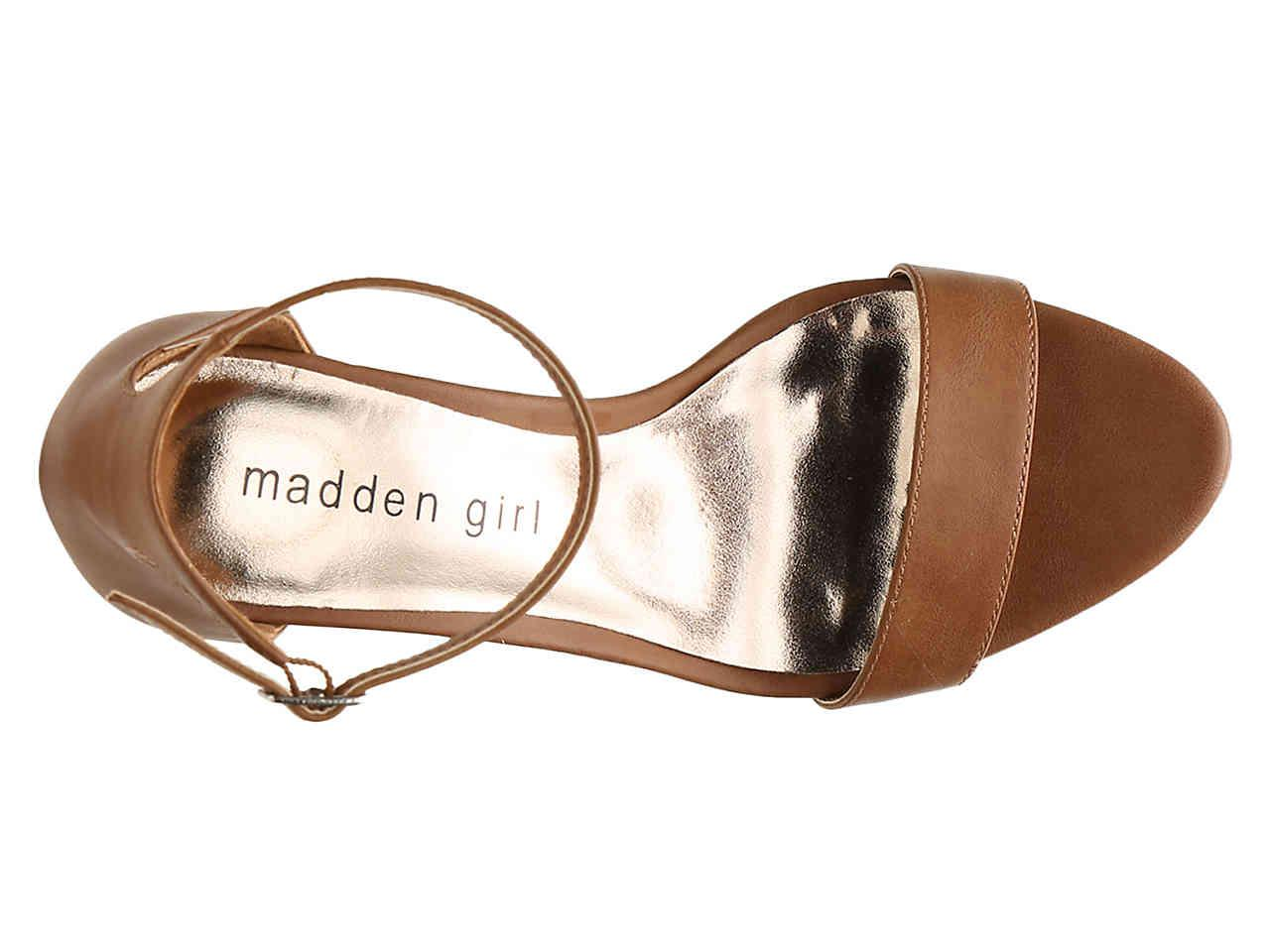 Madden Girl Bella Sandal in Brown - Lyst