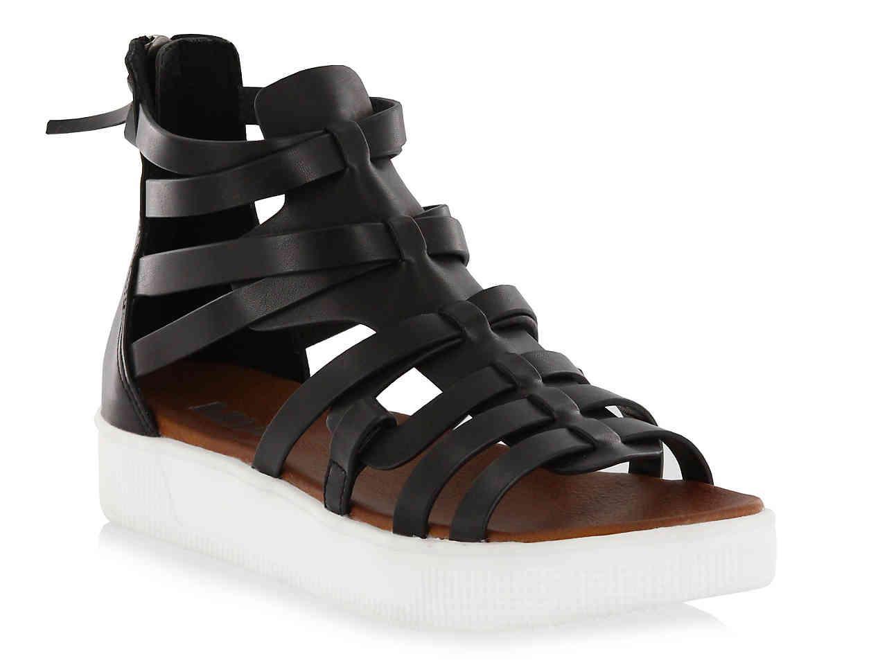 ceb2c741eb1 Lyst - MIA Elsie Gladiator Sandal in Black