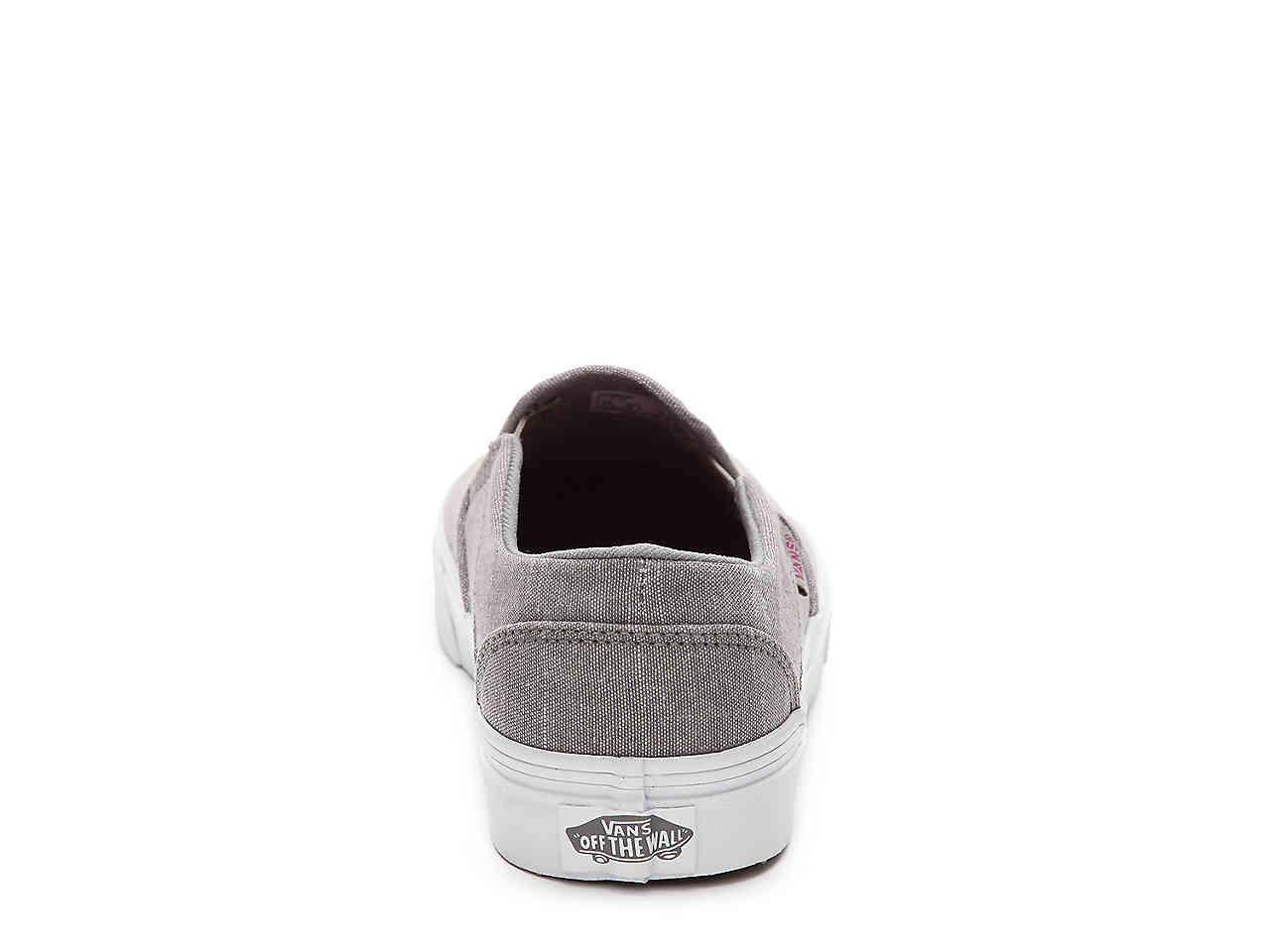 vans asher chambray mid gray