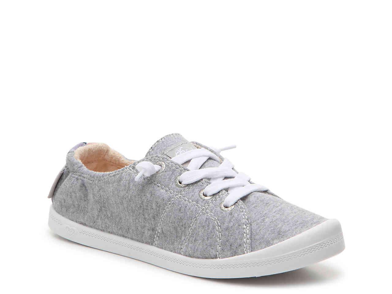 b4165c1ffb34 Lyst - Roxy Bayshore Iii Slip-on Sneaker in Gray